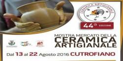 mostra mercato della ceramica artigianale di cutrofiano