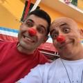 il clown pimpa con don gianni mattia