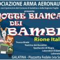 locandina la notte bianca dei bambini rione italia in festa 2017