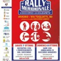 locandina rally aradeo