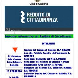 manifesto rdc 15 febbraio galatina